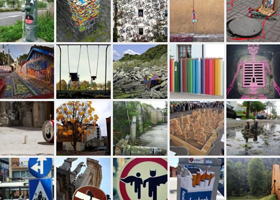 70 intervenções urbanas inusitadas, criativas edivertidas